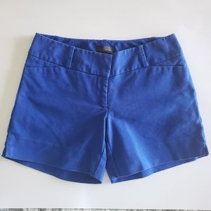 The Limited Blue Shorts, size 0